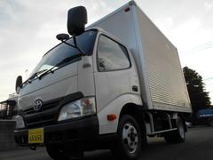 ダイナトラック2t積標準アルミバン背高210cmATリヤ観音開きディーゼル