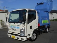 エルフトラック2t積プレス式パッカー車CNG(天然ガス)G−PX4.2立米