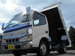 ダイナトラック2r積全低床強化ダンプ、法人ワンオーナー、整備記録完備