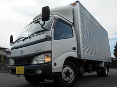 ダイナトラックアルミバン標準ロング背高204cmフロアATディーゼル車