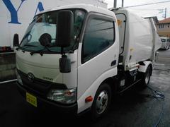 ダイナトラック2.15t積プレス式パッカー車LPG極東4.3立米