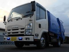 エルフトラック2tプレスパッカー車 モリタ4.1立米