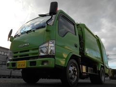 エルフトラック新明和製4.3立米プレス式パッカー車3.55t積