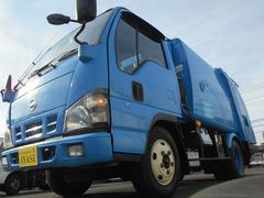 アトラストラック2t積プレス式パッカー車モリタ製4.1立米連続スイッチ