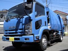 フォワード増トン4.2t積プレス式パッカー車8.5立米モリタ製