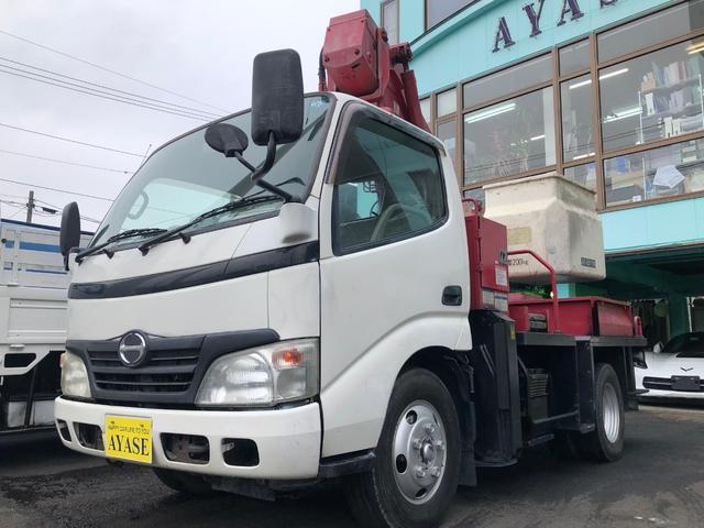 日野 12mタダノ製高所作業車4Lディーゼルターボ