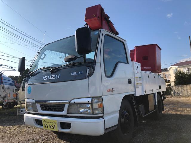 いすゞ 高所作業車9.9m電工仕様MTエスマックTS-100