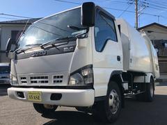 エルフトラック2.65t積プレス式パッカー車6.0立米スムーサーシフト
