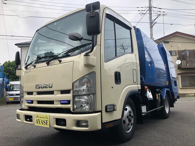 いすゞ 2t積プレス式パッカー車4.1立米モリタ東京都官庁仕様車
