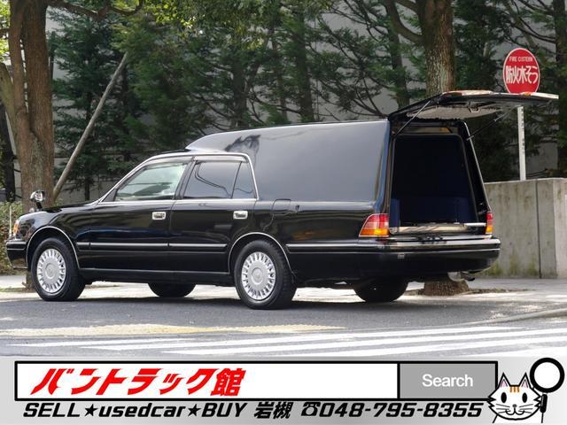 トヨタ 8ナンバー霊柩車登録お棺ストレッチャ兼用NOxPM適合4WD