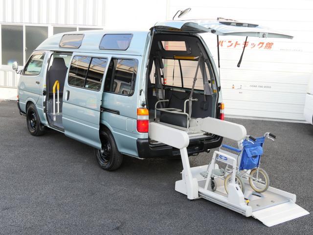 トヨタ 車いす2基10人乗自家兼施設用バックカメラナビ付電動リフト