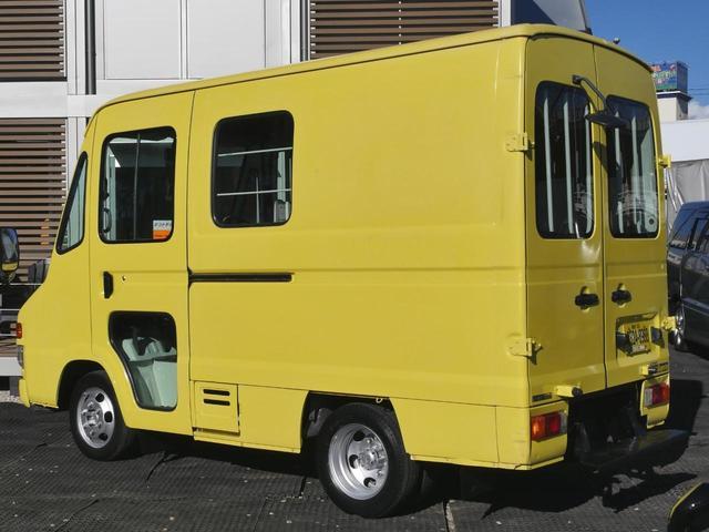 トヨタ キャンピングカー移動販売車ベースNOx法適合ディーゼルAT車
