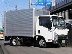 エルフトラック標準カゴテナー高2tアルミバン600kgパワーゲート水抜穴付