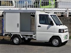 ミニキャブトラック常温管理お弁当ケータリング薬品運搬仕様保冷パネルバンBモニ付