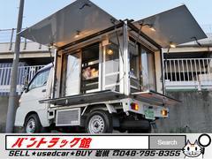ハイゼットトラック−5℃中温冷凍ガラスショーケース40L上下水手洗付移動販売車