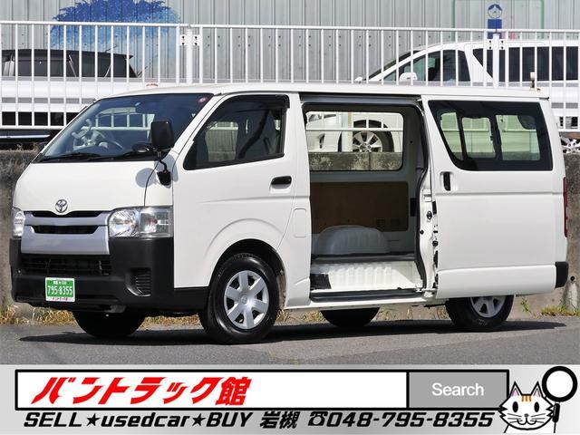 トヨタ 200系4型前期6速オートマ車 荷室用クーラー付5ドア3人乗
