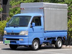 ハイゼットトラック荷室高160cm照明付き幌パネルバン荷掛けフック14個AT車
