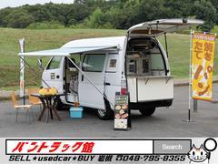 キャラバン大型オーブン付移動販売車サイドオーニング上下水パン焼き鉄板付