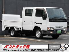 アトラストラック標準幅1.1t積載600kg垂直パワーゲート付Wキャブ6人乗