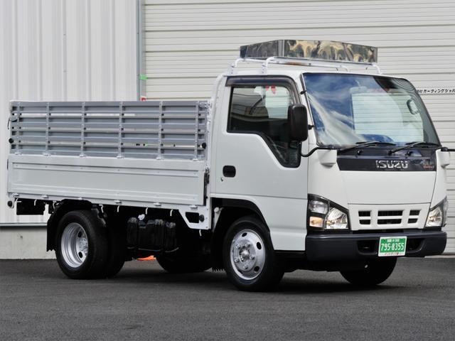 いすゞ エルフトラック 2t10尺 折畳式高アオリ 2ペダルMT ...