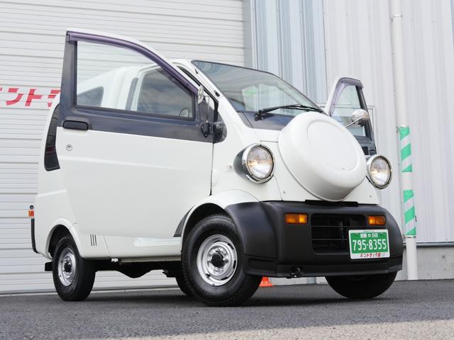 ダイハツ ミゼットII カーゴDオートマ2人乗エアコン社外コンポ付...