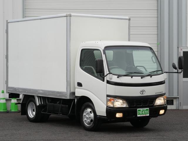 トヨタ トヨエース 積載2トン全低床ガソリンパネルバンBカメラ付1オーナー手帳付