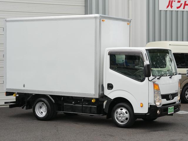日産 アトラストラック AT準中型免許10尺アルミパネルバン観音扉荷室高さ197cm