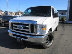 フォード エコノラインE−150 XLT 国内1オーナー 内装オーダー 禁煙車