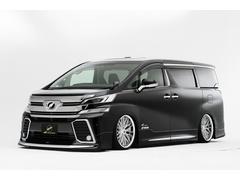 ヴェルファイア車高調機能付きエアサス&WORK20インチ カスタム車両