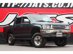 ハイラックススポーツピックダブルキャブ 4ナンバー 4WD 5速MT ドアバイザー
