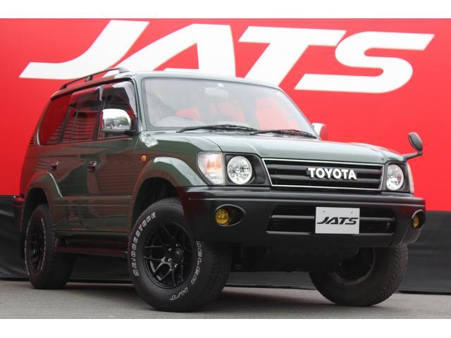 トヨタ ランドクルーザープラド TX 4WD サンルーフ AW オーディオ付 8名乗り