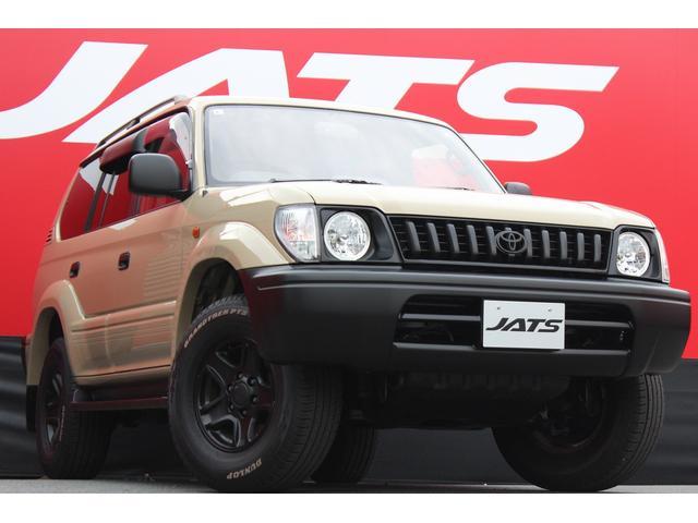 トヨタ ランドクルーザープラド TX オールペン車 丸目ヘッドライト 純正サンルーフ 4WD