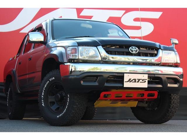 トヨタ  4WD トノカバー BFグットリッチタイヤ 社外ナビ ETC