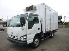 エルフトラックワイドセミロング冷蔵冷凍車パワーゲート付