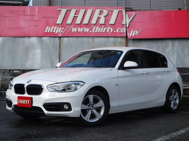 BMW 118d スポーツ 衝突軽減 LED 純正ナビカメラ