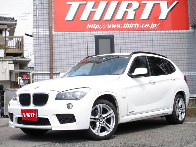 BMW X1 xDrive 20i Mスポーツ 18AW HID HDDナビTVバックカメラ ETC プッシュスタート 4WD