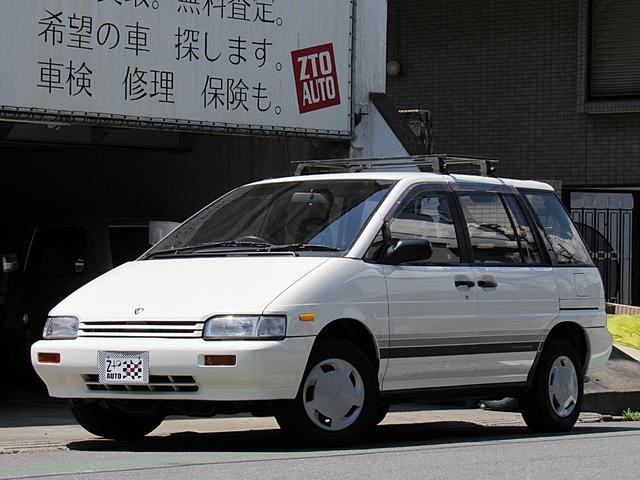 日産 プレーリー J7アテーサ 4WD 5速MT 純正オプションデカール ルーフキャリア ラジエター新品他整備済 純正ドアバイザー