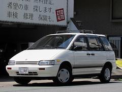 プレーリーJ7アテーサ 4WD 5速MT 純正オプションデカール ルーフキャリア ラジエター新品他整備済 純正ドアバイザー