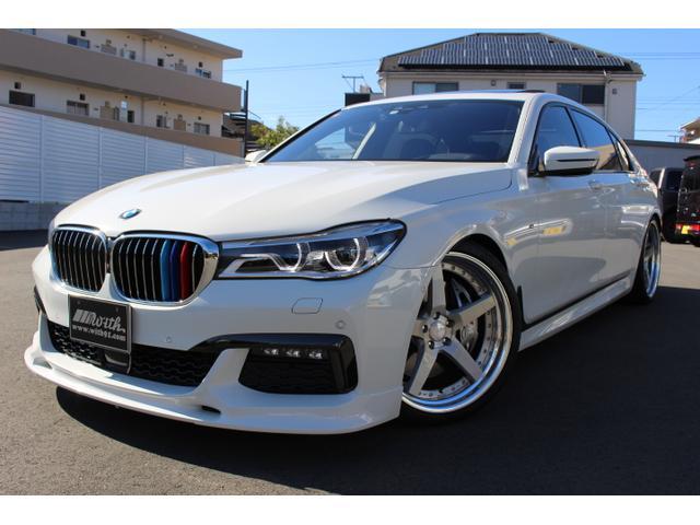 BMW 750Li Mスポーツ リアモニター 21AW ローダウン