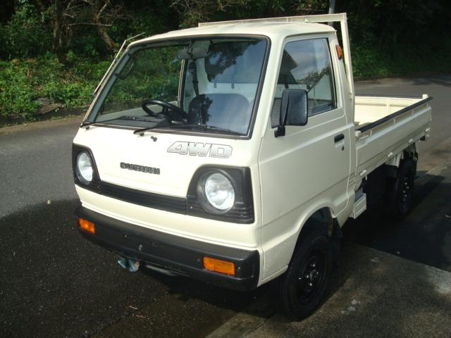 スズキ キャリイトラック トラック 4WD スタッドレスタイヤ エアコン