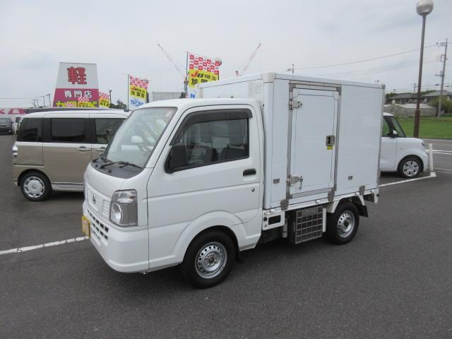 日産 冷凍冷蔵車 +30℃~-5℃ 4WD 5速MT エアバッグ