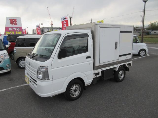 スズキ キャリイトラック -20℃ 冷蔵冷凍車 5MT 左スライドドア キーレス PW