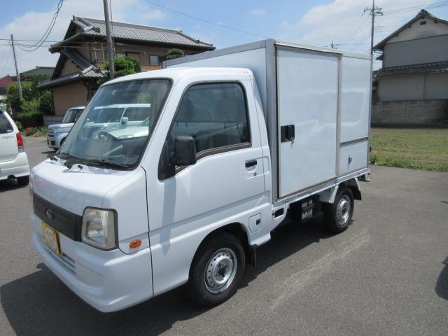スバル サンバートラック 冷凍冷蔵 オートマ -7℃ 左スライドドア PS AC