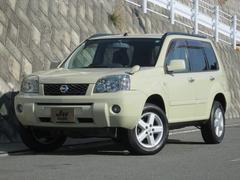エクストレイルX 4WD サンドカーキ カブロンシート ETC 純正アルミ
