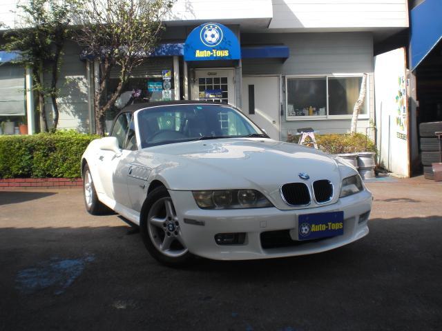 BMW 2.2i 幌新品張替え済 ディーラー車 右ハンドル ナビTV ETC メンテナンス記録簿多数有 純正ボディーカバー付 鑑定書