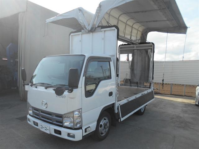 マツダ タイタントラック フルワイドロー 2t ウイング幌車 車両総重量5t未満