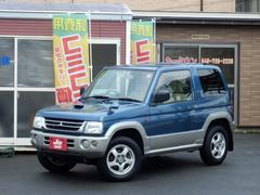 パジェロミニVRターボ 4WD キーレス 背面タイヤ