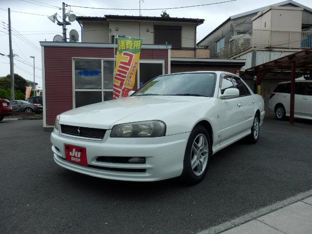 日産 スカイライン GTスペシャルエディション 後期型 キーレス ETC 純正ドラレコ