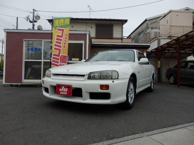 日産 スカイライン GT 5MT キーレス 純正AW 保証付