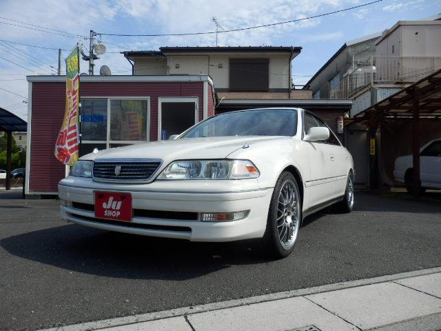 トヨタ マークII グランデ 5MT TEIN車高調 BBS18AW マフラー キーレス